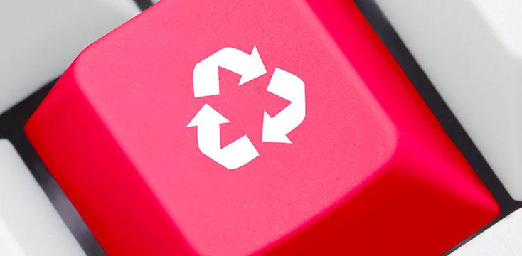 Online service portal for waste management