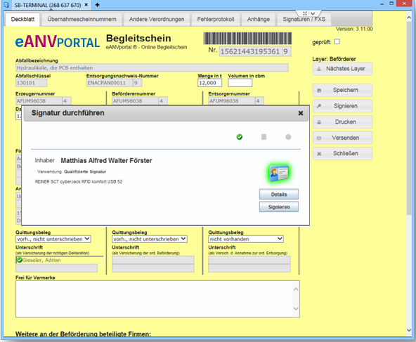 Screenshot Infoma