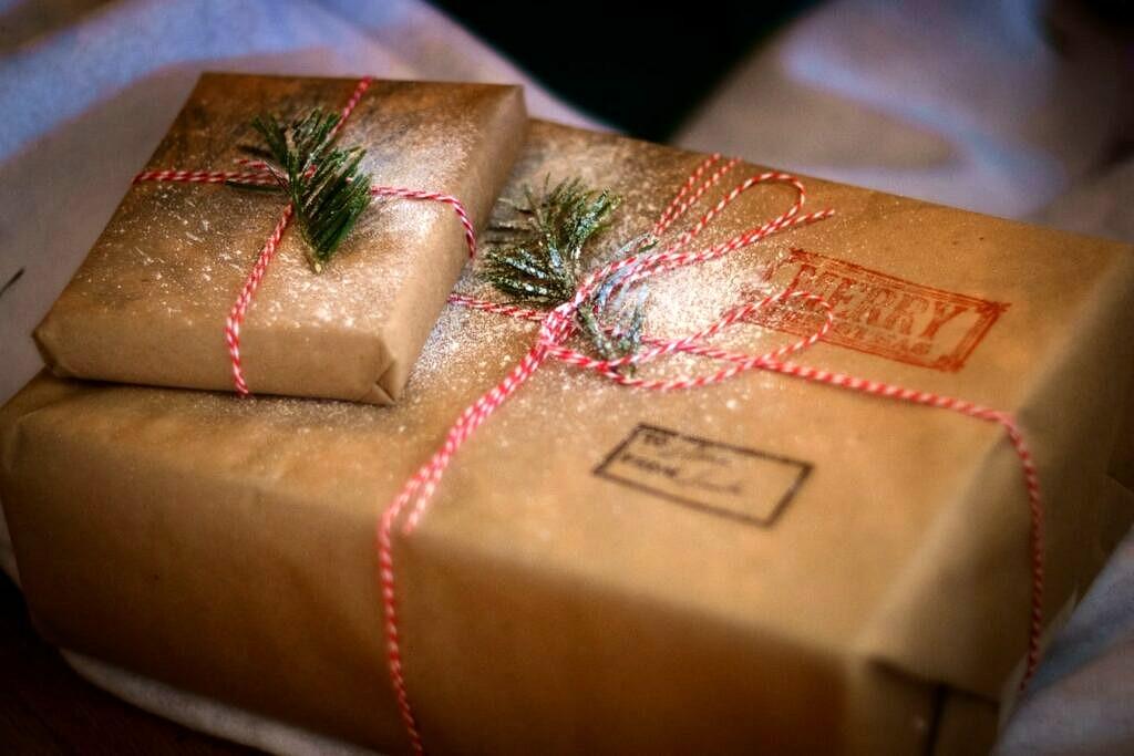 Nachhaltiges Geschenkpapier