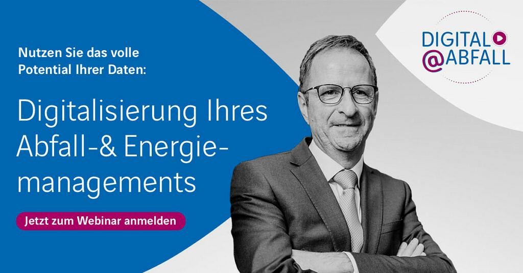 Webinar zur Digitalisierung Abfall-und Energiemanagement